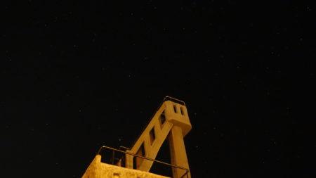 なごみの塔の修復が終わって