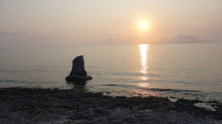 竹富島の昼と夜^^