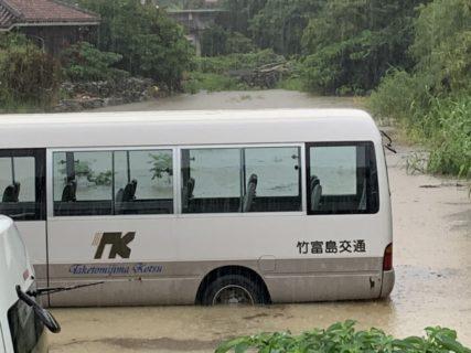 いや~すごい雨でした^^;